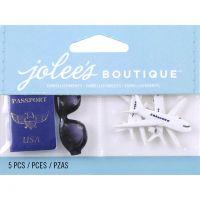 Jolee's Boutique Dimensional Embellishments 5/Pkg NOTM012724