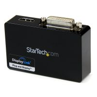 StarTech.com USB 3.0 to HDMI? and DVI Dual Monitor External Video Card Adapter SYNX3371185