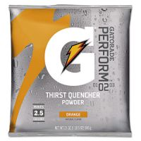 Gatorade Original Powdered Drink Mix, Orange, 21oz Packet, 32/Carton GTD03970