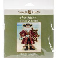 Jamaica Santa Counted Cross Stitch Kit NOTM052788
