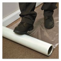 ES Robbins Roll Guard Temporary Floor Protection Film for Carpet, 36 x 2400, Clear ESR110024