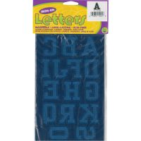 """Soft Flock Iron-On Letters & Numbers 1.75"""" Collegiate NOTM103506"""