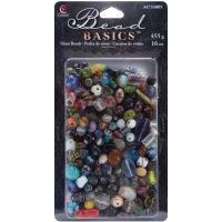 Jewelry Basics Glass Beads 16oz NOTM205744
