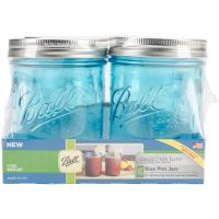 Ball (R) Wide Mouth Canning Jars 4/pkg NOTM300570