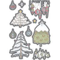 Elizabeth Craft Metal Die NOTM095124