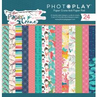 """PhotoPlay Double-Sided Paper Pad 6""""X6"""" 24/Pkg NOTM381318"""