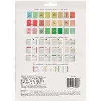 American Crafts Memory Planner Starter Kit NOTM056500