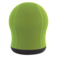 """Safco Zenergy Swivel Ball Chair, 17 1/2"""" Diameter x 23"""" High, Green Mesh SAF4760GN"""