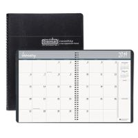 House of Doolittle Recycled 24-Month Ruled Monthly Planner, 8 1/2 x 11, Black, 2019-2020 HOD262002