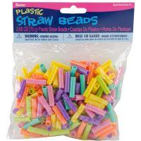Darice Plastic Straw Beads   NOTM158866