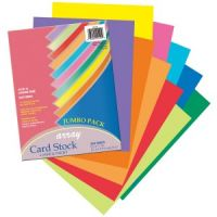 Pacon Array Card Stock, 65 lb., Letter, Assorted Lively Colors, 250 Sheets/Pack PAC101199