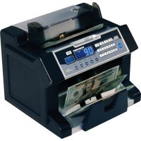Royal Sovereign Front loading bill counter with counterfeit detection, 1200 bills/min and auto start/stop, batching 1 -999 bills, auto self test RSIRBC3100