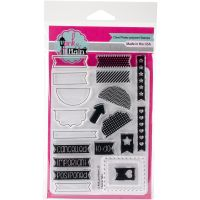 """Pink & Main Clear Stamps 4""""X6"""" NOTM344666"""