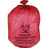 Medegen MHMS Red Biohazard Infectious Waste Bags MHMMDRB142755