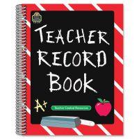 Chalkboard Teacher Record Book TCR2119
