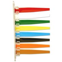 Unimed Status Flags, 8 Flags, Assorted Colors IMCI8PF169438