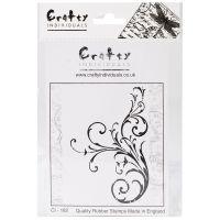 """Crafty Individuals Unmounted Rubber Stamp 4.75""""X7"""" Pkg NOTM082593"""