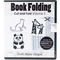 Debbi Moore CD Rom Cut & Fold Book Folding Patterns NOTM381591