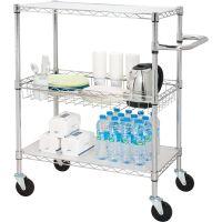 Lorell 3-Tier Rolling Cart LLR84858