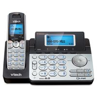 Vtech Two-Line Expandable Cordless Phone with Answering System VTEDS6151