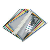 Tarifold, Inc. Wall Unit Reference Starter Set, Five Wire-Reinforced Pockets TFIW290