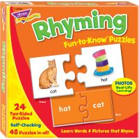 Trend Rhyming Puzzle Set TEP36009