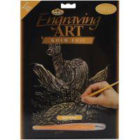 Gold Foil Engraving Art Kit   NOTM257412