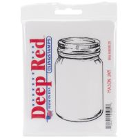 """Deep Red Cling Stamp 2""""X3.75"""" NOTM321485"""