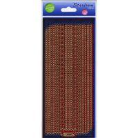 Glitter Borders Assorti Peel-Off Stickers NOTM124854