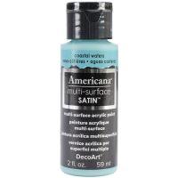 Deco Art Coastal Waters Americana Multi-Surface Satin Acrylic Paint NOTM134159