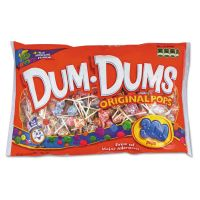 Spangler Dum-Dum-Pops, Assorted Flavors, Individually Wrapped, 300/Pack SPA60