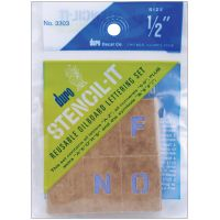 Stencil-It Reusable Lettering Set NOTM401313