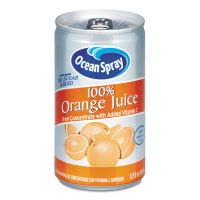 Ocean Spray 100% Juice, Orange, 5.5 oz Can OCS20453