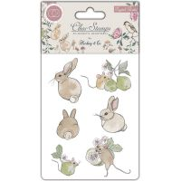 Craft Consortium A5 English Garden Clear Stamps NOTM498701