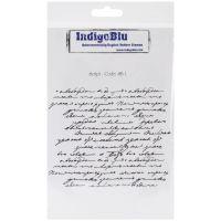 """IndigoBlu Cling Mounted Stamp 7""""X4.75"""" NOTM291933"""