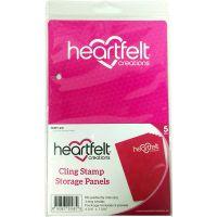Heartfelt Creations Cling Stamp Storage Panels 5/Pkg NOTM291125