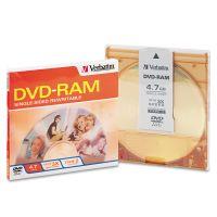 Verbatim Type 4 DVD-RAM Cartridge, 4.7GB, 3x VER95002
