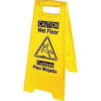 Genuine Joe Universal Graphic Wet Floor Sign GJO85117