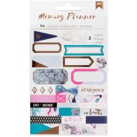 American Crafts Memory Planner Label Stickers NOTM098602