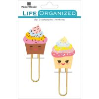 Paper House Life Organized Puffy Clips 2/Pkg NOTM498576