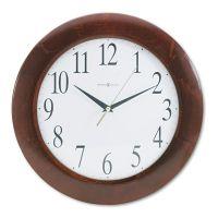 "Howard Miller Corporate Wall Clock, 12-3/4"", Cherry MIL625214"