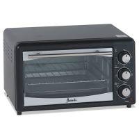 Avanti Toaster Oven, 4 Slice Capacity, Stainless Steel/Black AVAPOW61B