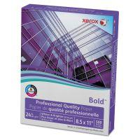 Xerox Bold Professional Quality Paper, 98 Brightness, 24 lb, 8 1/2 x 11, White, 500 Sheets/Ream XER3R13038