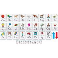 Trend Photo Alphabet Cards Zaner-Bloser Manuscript TEP721
