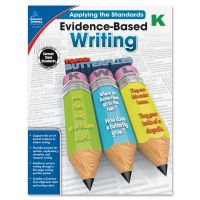 Carson-Dellosa Grade K Evidence-Based Writing Workbook Education Printed Book for Art CDP104823