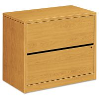HON 10500 Series Two-Drawer Lateral File, 36w x 20d x 29-1/2h, Harvest HON10563CC