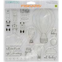 "Fiskars Lia Griffith 8""X8"" Stamps NOTM393191"