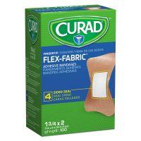 Curad Flex Fabric Bandages, Fingertip, 100/Box MIINON25513