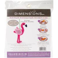 3-D Flamingo Felt Applique Kit NOTM054485