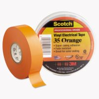 "3M Scotch 35 Vinyl Electrical Color Coding Tape, 3/4"" x 66ft, Orange MMM10869"